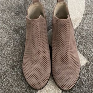 BP Tan Booties Size 7 from Nordstrom